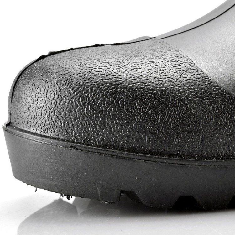 steel toe wellingtons longson black 1