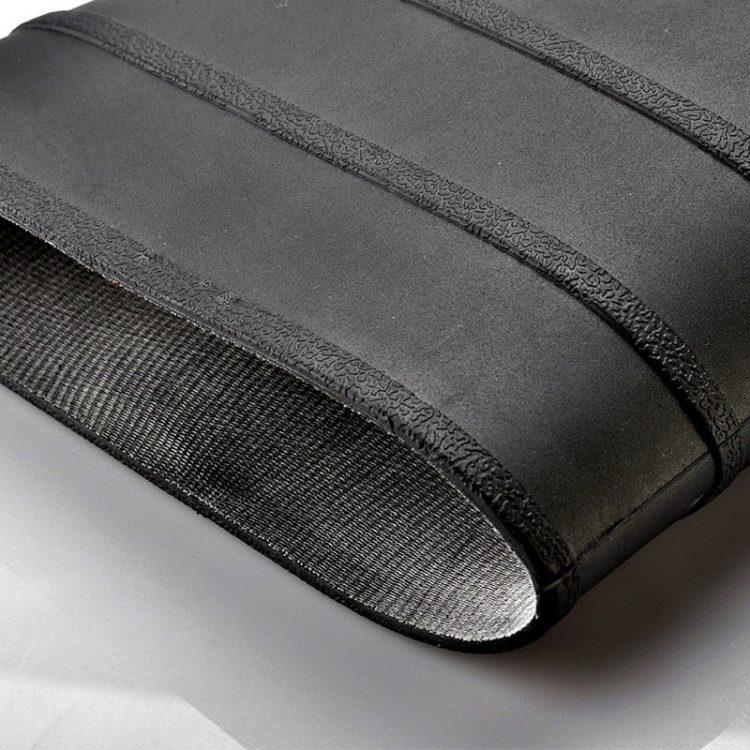 steel toe wellingtons longson black 2