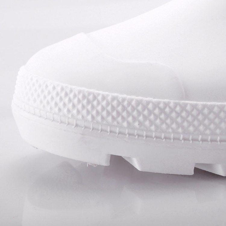 non steel pvc safety boots longson white 2