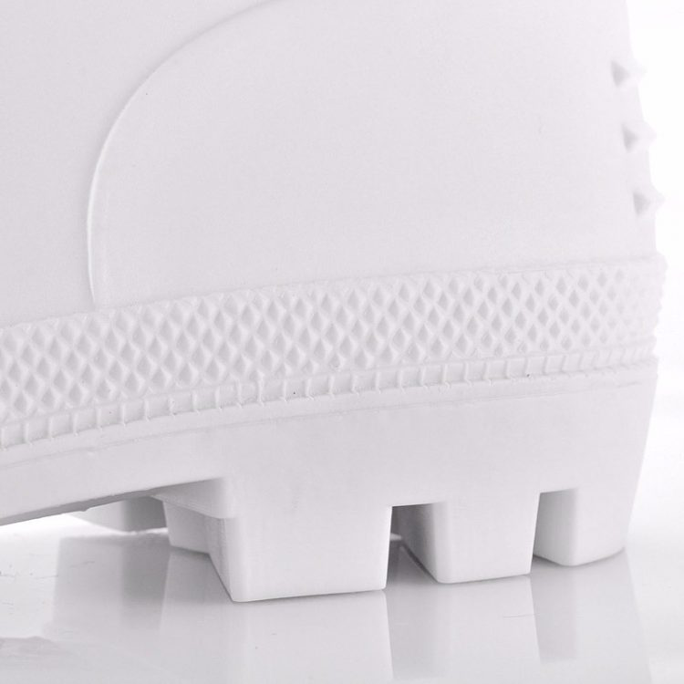 non steel pvc safety boots longson white 3