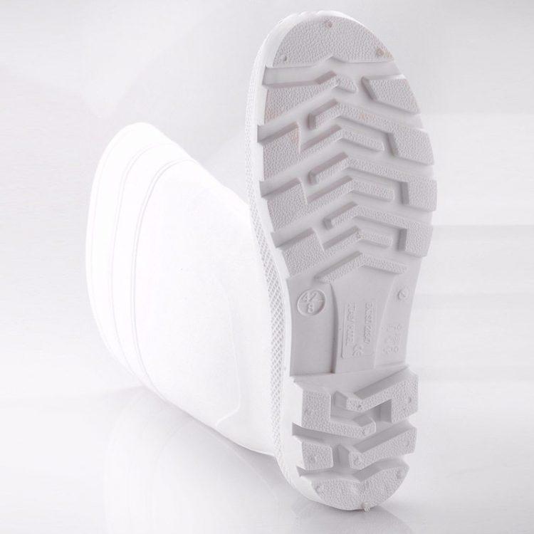 non steel pvc safety boots longson white 4