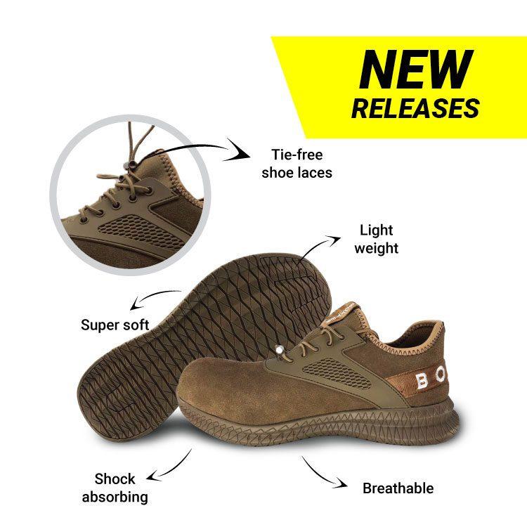 lightweight safety shoes blake brown