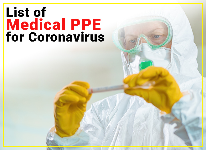 list of medical ppe
