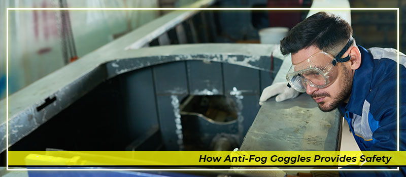 Anti-fog Goggles to Improve Efficiency