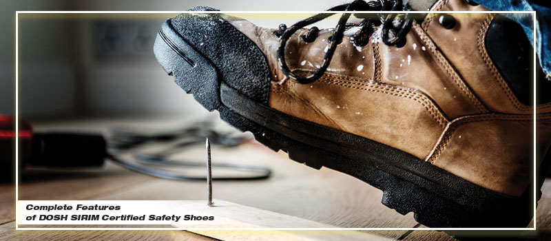 dosh sirim anti penetration shoes