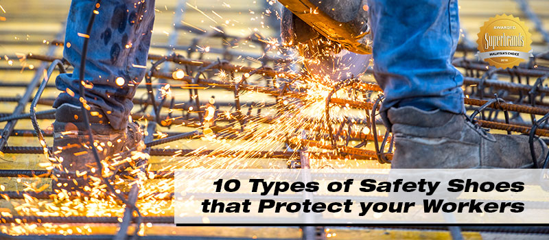 10-types-of-safety-shoes