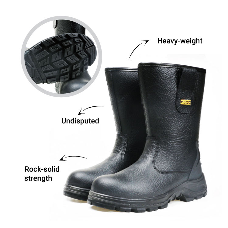 high cut safety boot